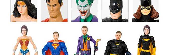 Get Your Head On A Superhero Action Figure