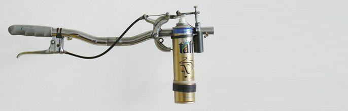 Mosquito flamethrower…err…WANT!!