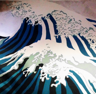 Illustration – Great Wave Off Kanagawa