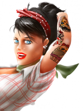 Illustration – Rockabilly