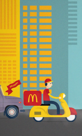 Animation – McDelivery